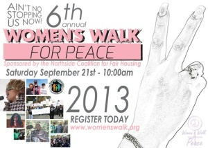 womens walk for peace