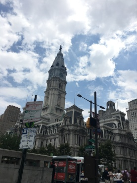 Philly clouds!